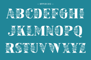 Print on Demand: Peaceful Nature Decorative Font By Creative Fabrica Fonts 3