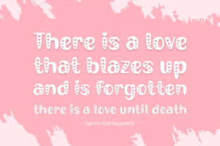 Print on Demand: Place Love Display Font By Creative Fabrica Fonts 4