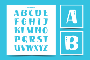 Print on Demand: Place Star Display Fuente Por Creative Fabrica Fonts 4