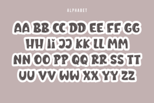 Print on Demand: Rosa Bright Display Font By Creative Fabrica Fonts 6