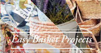 Upcycled Basket Projects