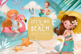 Print on Demand: Let's Go to the Beach Graphic Illustrations By Anna Babich