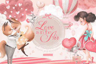 Print on Demand: Love is in the Air Graphic Illustrations By Anna Babich