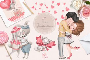 Print on Demand: Love is in the Air Graphic Illustrations By Anna Babich 2