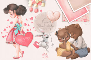 Print on Demand: Love is in the Air Graphic Illustrations By Anna Babich 3