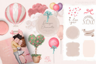 Print on Demand: Love is in the Air Graphic Illustrations By Anna Babich 5