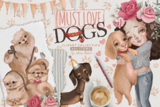 Print on Demand: Must Love Dogs Graphic Illustrations By Anna Babich 1