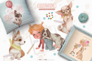 Print on Demand: Must Love Dogs Graphic Illustrations By Anna Babich 2