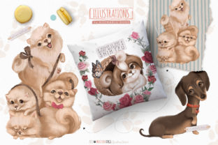 Print on Demand: Must Love Dogs Graphic Illustrations By Anna Babich 4