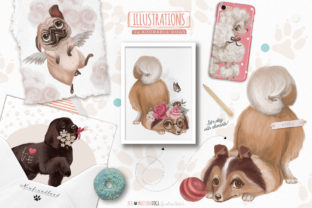 Print on Demand: Must Love Dogs Graphic Illustrations By Anna Babich 5