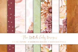 Print on Demand: Seamless Patterns - Happy Fall Graphic Patterns By daphnepopuliers