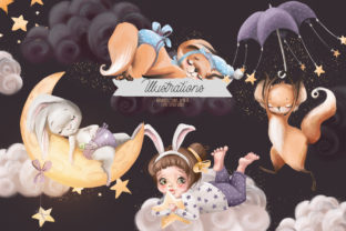 Print on Demand: Sweet Dreams Graphic Illustrations By Anna Babich 2