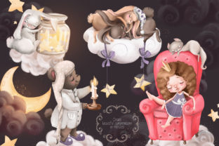 Print on Demand: Sweet Dreams Graphic Illustrations By Anna Babich 3