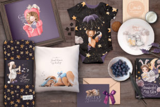 Print on Demand: Sweet Dreams Graphic Illustrations By Anna Babich 4