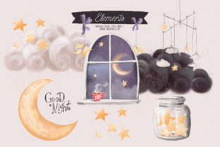 Print on Demand: Sweet Dreams Graphic Illustrations By Anna Babich 5