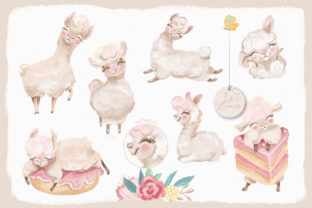 Print on Demand: The Sweet Llama Graphic Illustrations By Anna Babich 2