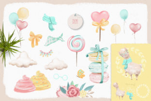 Print on Demand: The Sweet Llama Graphic Illustrations By Anna Babich 6