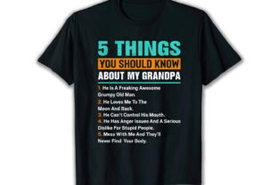Print on Demand: 5 Things You Best Selling T Shirt Design Graphic Print Templates By merchbundle-1