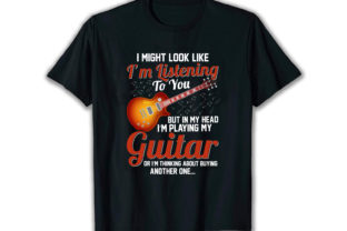 Print on Demand: I Might Look Best Selling T Shirt Design Graphic Print Templates By merchbundle-1