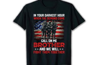 Print on Demand: In Your Darkest Best Selling T Shirt Graphic Print Templates By merchbundle-1