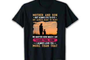 Print on Demand: Mother and Son Best Selling T Shirt Graphic Print Templates By merchbundle-1