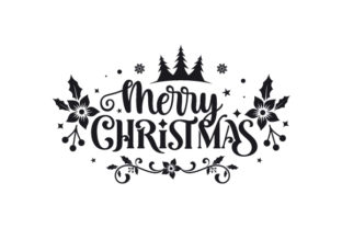 Merry Christmas Christmas Craft Cut File By Creative Fabrica Crafts 2