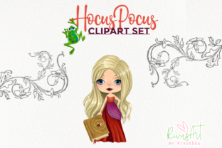 Hocus Pocus Fan Art. Hocus Pocus Witches Graphic Illustrations By CosyArtStore by RivusDea 4