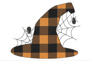 Witch Hat for Halloween Halloween Embroidery Design By ArtDigitalEmbroidery