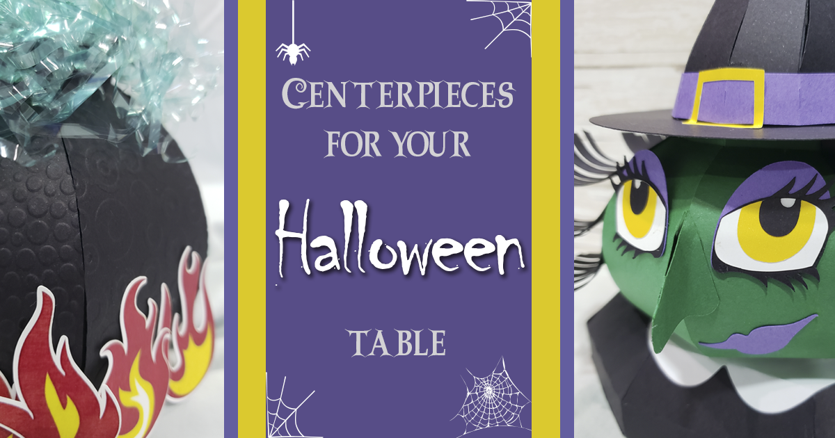 Centerpieces for Your Halloween Table