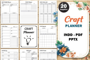 Print on Demand: Craft Project Planner, Crafters Journal Graphic KDP Interiors By Fayne