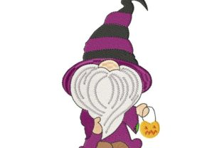 Halloween Gnome Halloween Embroidery Design By Thread Treasures Embroidery
