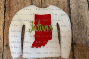 Indiana Elf North America Embroidery Design By Bella Bleu Embroidery
