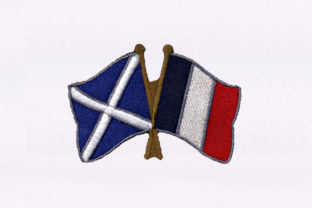 Scotland Flags Independence Day Embroidery Design By StitchersCorp