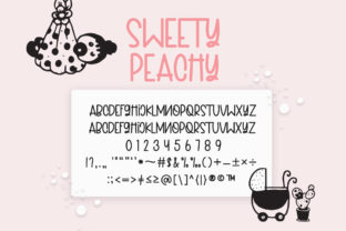 Print on Demand: Sweety Peachy Mommy Script & Handwritten Font By Fillo Graphic 10