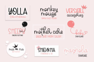 Print on Demand: Sweety Peachy Mommy Script & Handwritten Font By Fillo Graphic 2