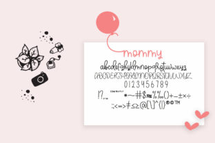 Print on Demand: Sweety Peachy Mommy Script & Handwritten Font By Fillo Graphic 8