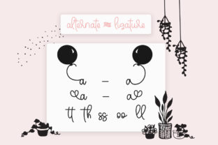 Print on Demand: Sweety Peachy Mommy Script & Handwritten Font By Fillo Graphic 9