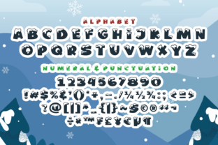 Print on Demand: Winter Vibes Display Font By Dani (7NTypes) 5