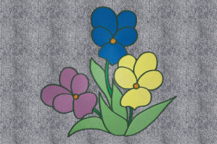 Print on Demand: Bouquet of Flowers Bouquets & Bunches Embroidery Design By embroidery dp