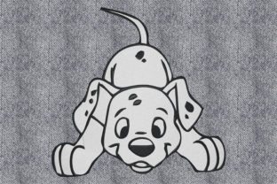 Print on Demand: Happy Puppy Dogs Embroidery Design By embroidery dp