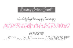 Print on Demand: Holiday Cookies Script & Handwritten Font By BitongType 2