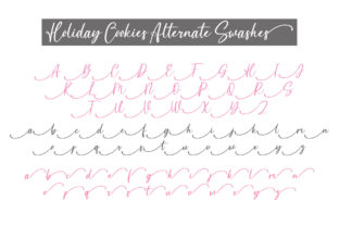 Print on Demand: Holiday Cookies Script & Handwritten Font By BitongType 3