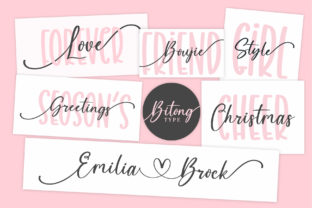 Print on Demand: Holiday Cookies Script & Handwritten Font By BitongType 6