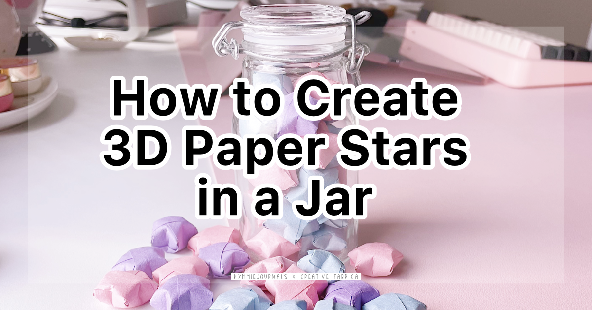 How to Create 3D Paper Stars in a Jar