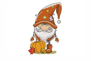 Autumn Gnome Autumn Embroidery Design By NinoEmbroidery