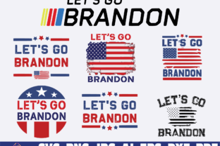 Print on Demand: Let's Go Brandon Graphic Illustrations By Sofiamastery