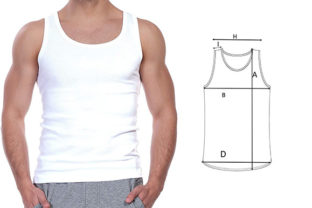 Print on Demand: Pattern Adult and Kid Tank Top Graphic Sewing Patterns By hm graphic