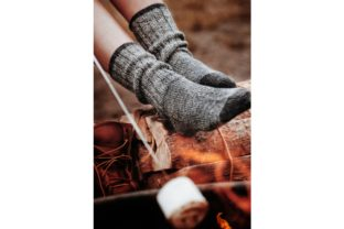 The Camp Socks Knitting Pattern Graphic Knitting Patterns By DarlingJadore