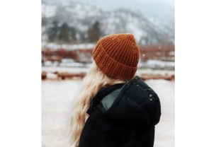 The Hickory Beanie Knitting Pattern Graphic Knitting Patterns By DarlingJadore