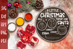 A Little Christmas Treat for Santa SVG Graphic Crafts By CraftlabSVG
